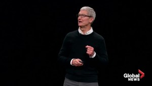 Apple announces TV streaming service, credit card